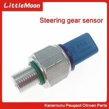 цена на LittleMoon Power Steering Pressure Switch Sensor for PEUGEOT 206 306 307 308 408 406 508 CITROEN C4 C5 Cquatre 9677899580 401509