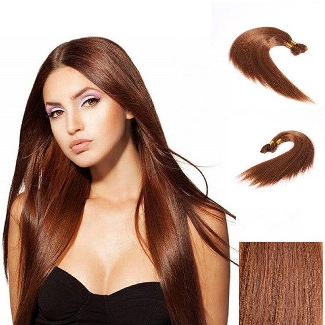 Us 14 5 33 Long Afro Yaki Straight Bulk Dark Auburn Brown 2pcs Lot Coarse Afro Yaki Hair Bulk Unwefted Straight Crochet Hair Extensions On