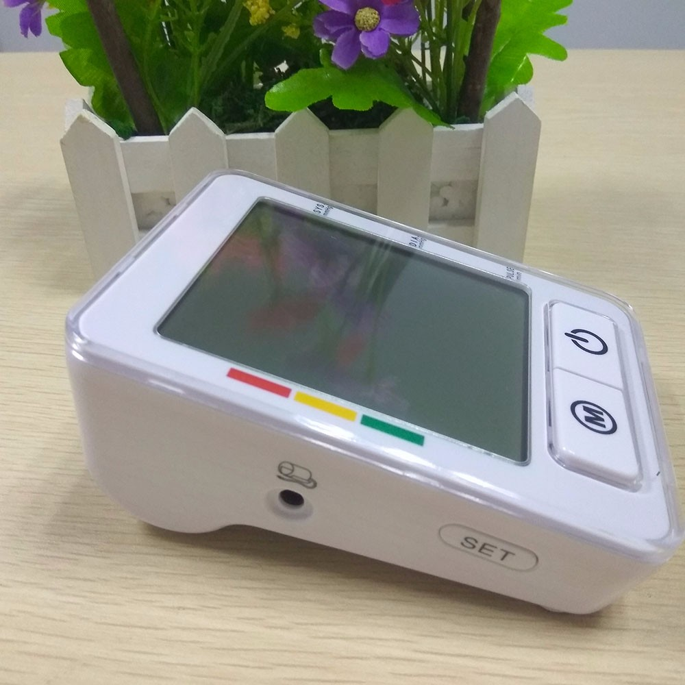 Digital Arm Blood Pressure meter Automatic Pulse Monitor Sphygmomanometer health care upper tonometer BP Blood Pressure monitors cheap