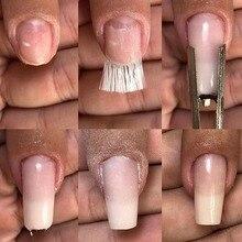 10g 2cm to 10cm Fiberglass for Nail Extension Fibernails Acrylic Tips Manicure Salon Tool Curvature Clips Silk Wraps