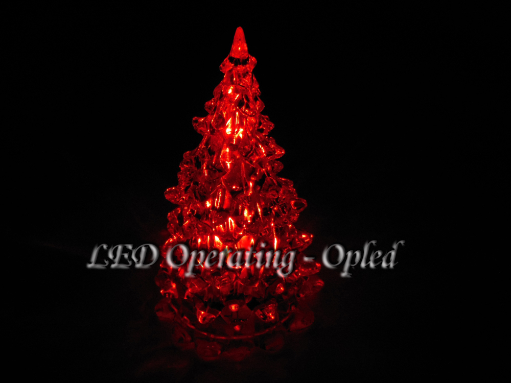 pmma christmas tree light led christmas tree lamp greenbluepurplewhitered all available flashing led christmas light gift in holiday lighting from