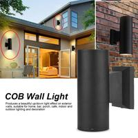 1pcs Waterproof wall light dual head cob+led wall mount light outdoor/indoor corridor waterproof lamp