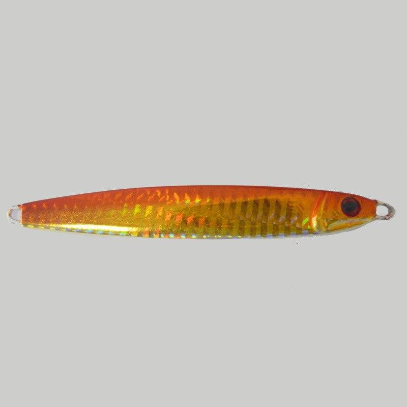Metal Jig Lure 80g 11.5cm 3 D Eyes Jigging Fishing Bait New Sea Fishing Lure Sinking Hard Bait