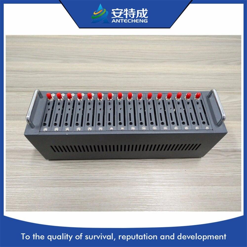MTK quad-band 850/900/1800/1900 MHz massen-sms 16 port modem pool, 16 port gsm modem pool mit IMEI ändern