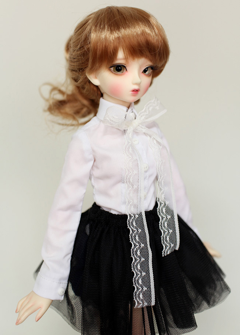 2019 New Arrival 1/3 1/4 1/6 BJD Doll SD Clothes Toy Clothes For Girls Birthday Gift Skirt +Shirt