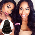 Glueless Full Lace Human Hair Wigs Short Wig Brazilian Virgin Hair Deep Wave Lace Front Human Hair Wigs For Black Women