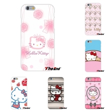 For Samsung Galaxy A3 A5 A7 J1 J2 J3 J5 J7 2015 2016 2017 Cartoon Minnie Hello Kitty Cat Kawaii Silicone Phone Case