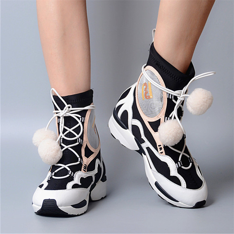 Mixte forme vert Lacets Red wine Respirant Wedge Bottines Bottes Plate Chaussures Femmes Tenis Couleur Casual Noir Femme À Prova Creepers Feminino Perfetto wqxzXHFnB