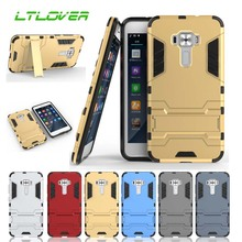 Fashion Hot Iron Man Design PC + TPU Anti Shock Proof case for apple iphone X 7 8 6 6S Plus 5 5S SE stand cover following cases