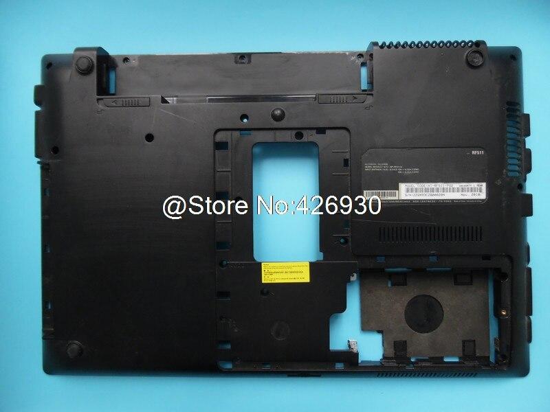 Laptop Bottom Case For Samsung RF510 RF511 RC530 Lower Case 95% New Original laptop bottom case for sony svt1312aj svt13139cjs svt1313aj svt13115fbs