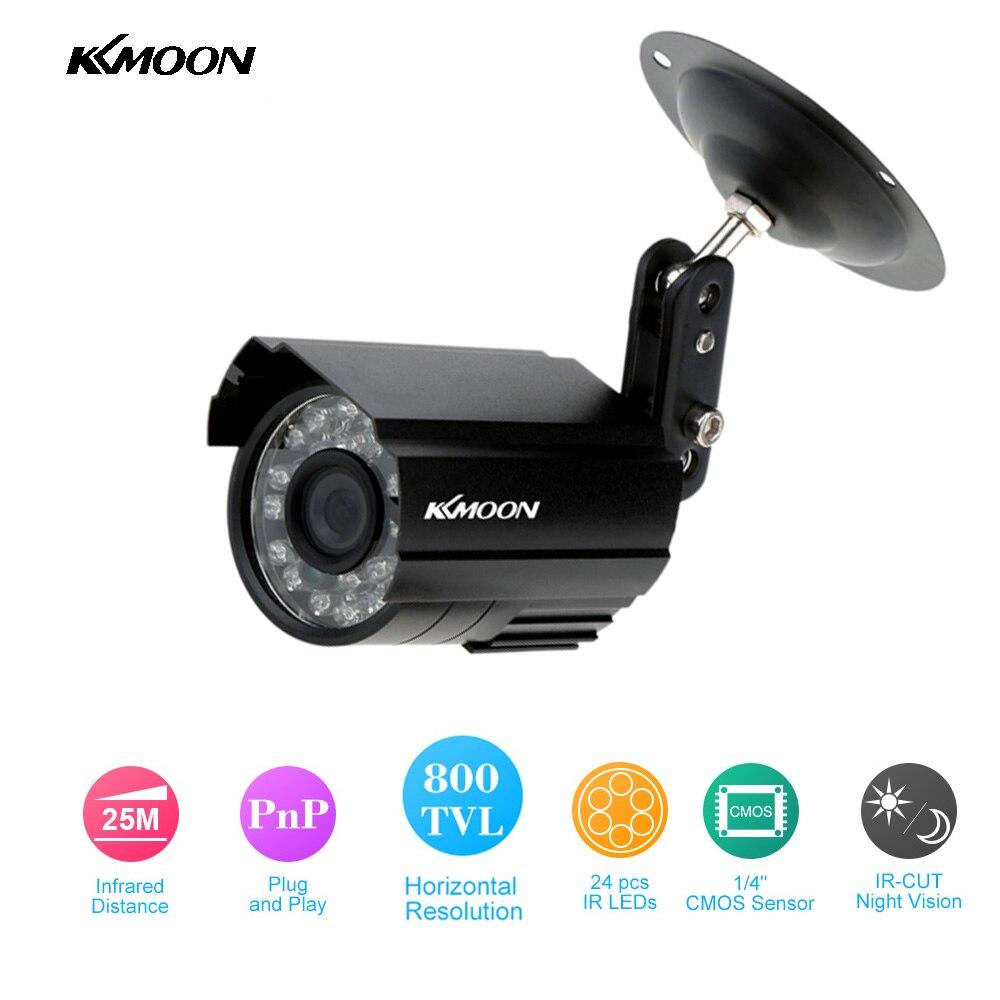 bilder für KKmoon Heißer Verkauf HD 800TVL Cctv-kamera Außen 24 IR-LEDS Home Security Kamera Nachtsicht Wasserdichte Gewehrkugel Kamera