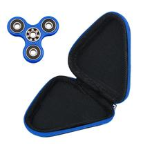 2017 Travel Accessories Adults Kids Gift for LED lamp Fidget Hand Spinner Finger Toy Focus ADHD Autism Bag Box Carry Case Packet