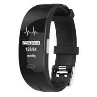 KAIHAI h66 pulsera de salud ppg ecg pulsera inteligente reloj banda de presión arterial monitor de ritmo cardíaco actividad física rastreador gps