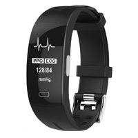 KAIHAI h66 health wristband ppg ecg smart bracelet watch band Blood pressure heart rate monitor fitness activity tracker gps