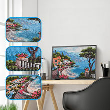 adornos para la casa 5D Full Square Dirll Embroidery Paintings Rhinestone Pasted