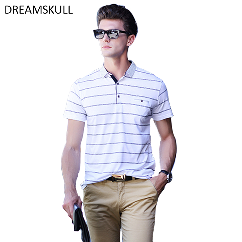 Polo décontracté hommes mode à manches courtes hommes Polos chemise de mode nouveaux Polos homme chaud-vente Slim Polo chemise