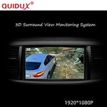QUIDUX 2017 Newst HD 3D 360 derece Surround Görüş Sistemi panoramik sürüş destek sistemi Kuş Görüş G Ile Panorama Sistemi-sensör