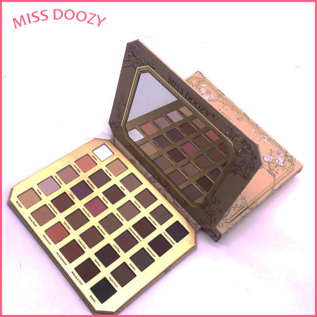 MISS DOOZY 14 Color Makeup Eye Shadow Palette Fashion Best