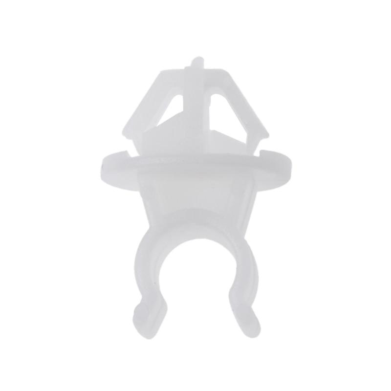 beler 1 Set 3pcs Hood Support Prop Rod Holder Clip 91503-SS0-003