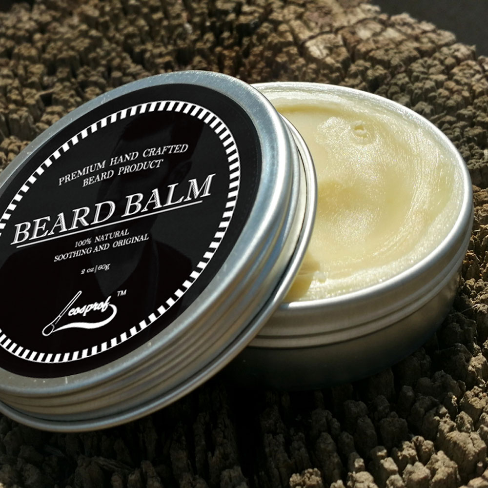 Cosprof 60g Natural Beard Balm Moustache Growth Product Cream Conditioner The Caviar Original Oil Styling Wax In Hair Loss Products From Beauty