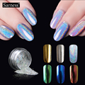 Shinning Chrome Mirror Powder Nail Metal Nail Art Tip Decoration Pigment Glitters Dust holographic powder nail art decorations