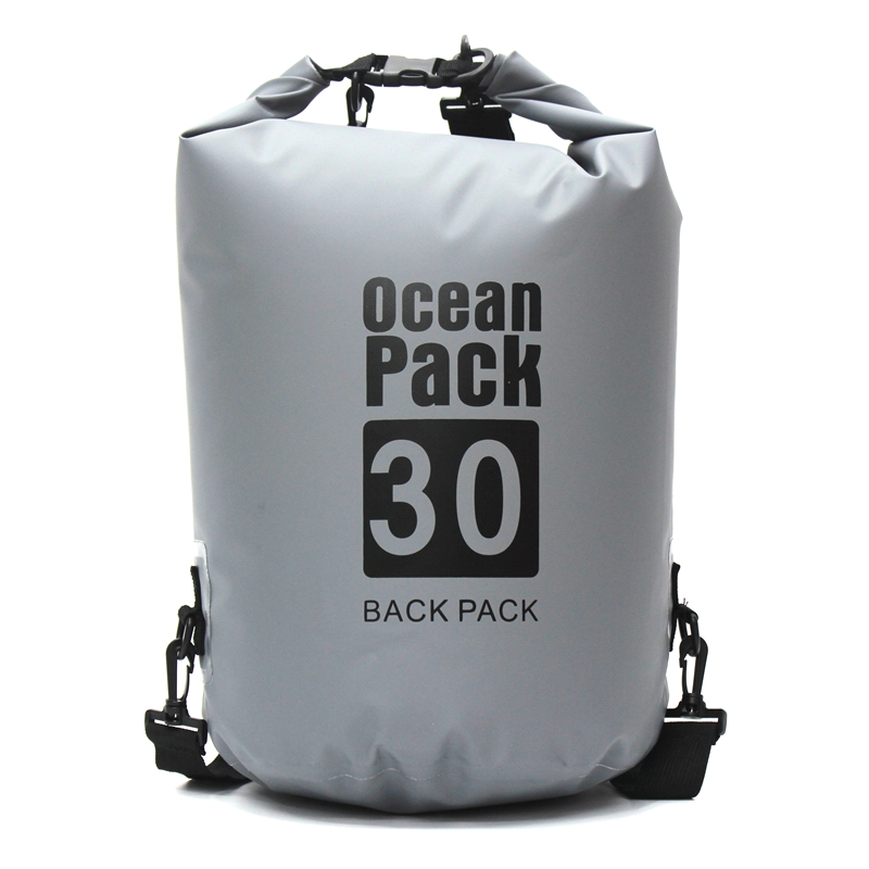 30L Waterproof Bags Ultralight Camping Hiking Dry Bag Waterproof Drifting Kayaking Swimming Bags For Outdoor Sport Bag