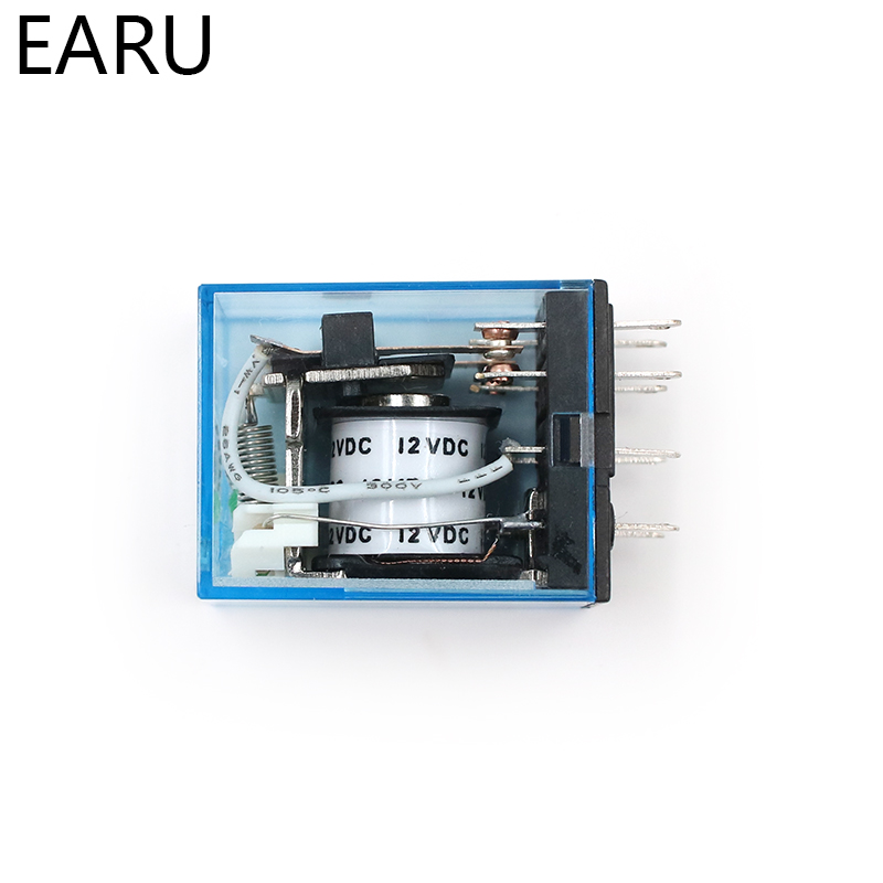 HTB1fuIxjvuSBuNkHFqDq6xfhVXah - MY2P HH52P MY2NJ Relay Coil General DPDT Micro Mini Electromagnetic Relay Switch with Socket Base LED AC 110V 220V DC 12V 24V