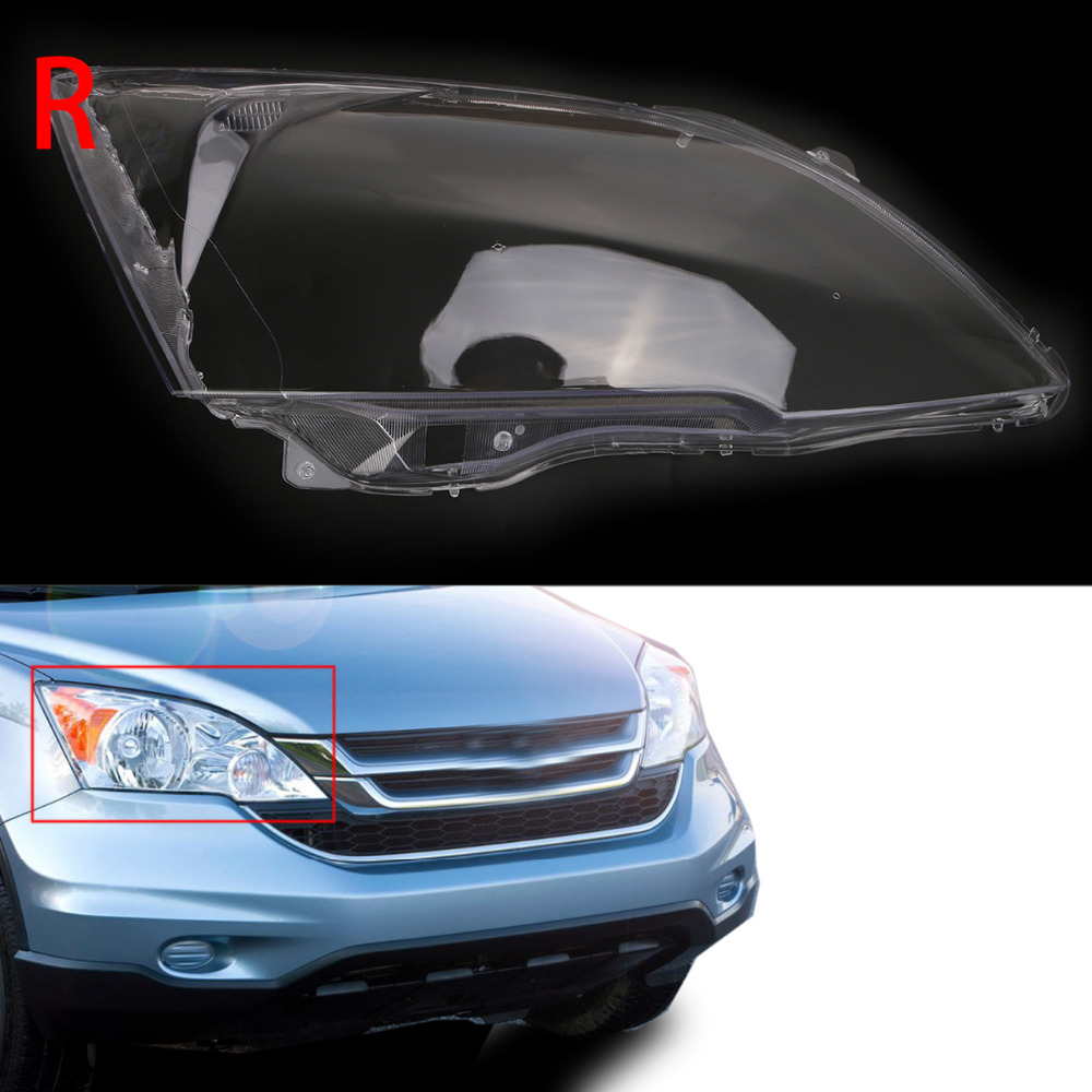 Lamp Hoods Brave Right Side Clear Transparent Housing Headlight Lens Shell Cover Lamp Assembly For Honda Cr-v Ex Lx Models 2007-2011 #n003-r Ideal Gift For All Occasions