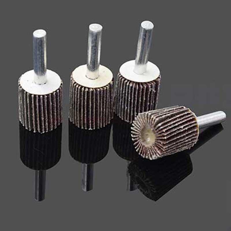 10 tk klapiga monteeritud rattapesa metalli poleerimispea - Abrasiivtööriistad - Foto 3