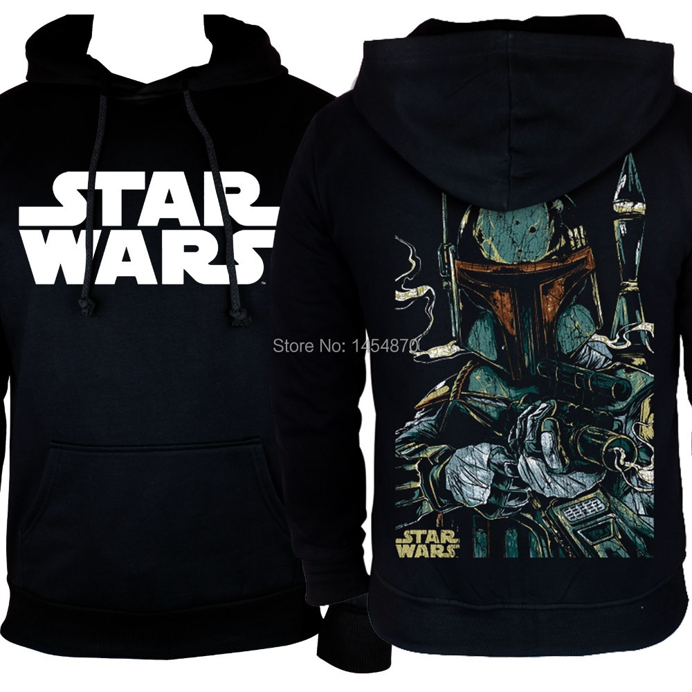 Fashion Cool Science Fiction Film Star Wars Darth Vader  Hoodies Winter jacket Punk Black Sweatshirt  fleece pullover