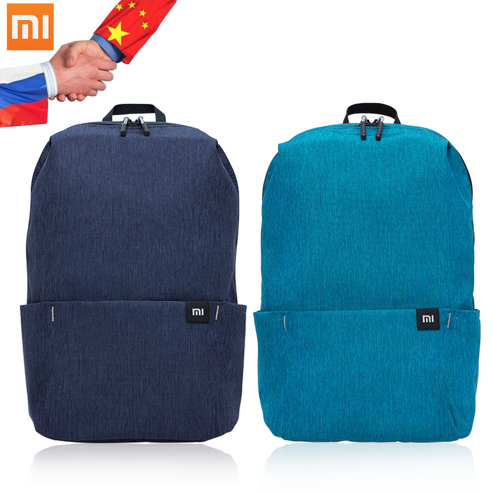 Original Xiaomi Backpack 10l Bag Colorful 165g Urban Leisure Sports Chest Pack Bags Men Women Small Size Shoulder Unisex Mi Bag Making Things Convenient For The People