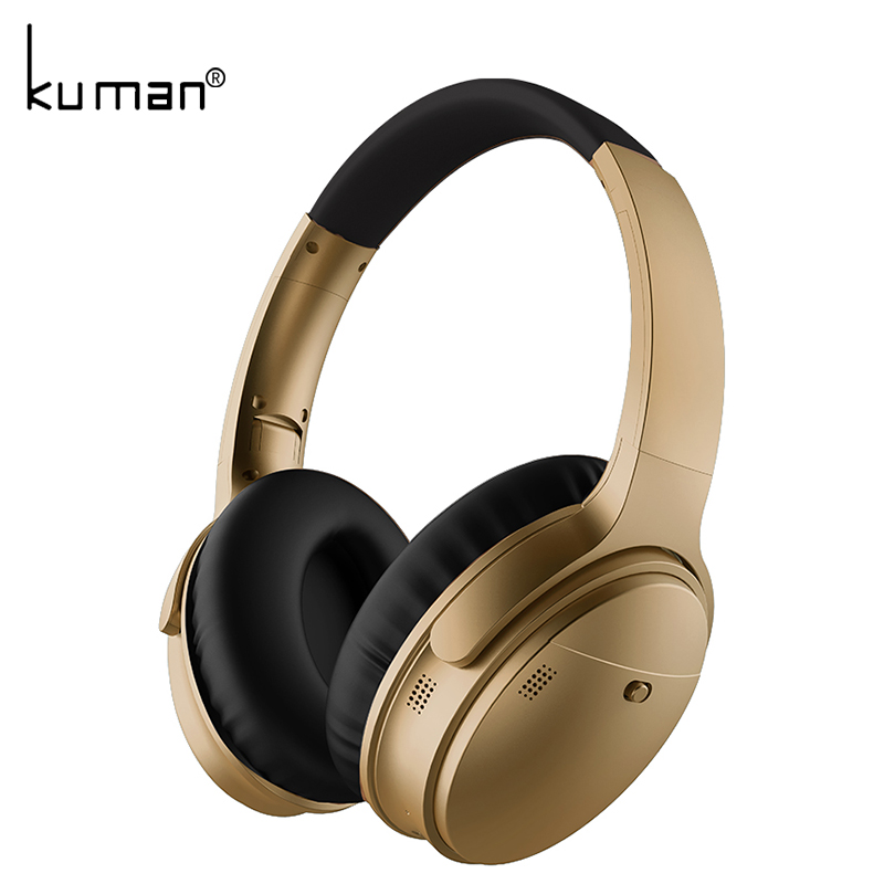 Kuman Sports Headsets Stereo Wireless Headphones HIFI Bluetooth Earphone with 3.5mm Conversion Line For Phone PC Gaming YL-HH7 цена и фото