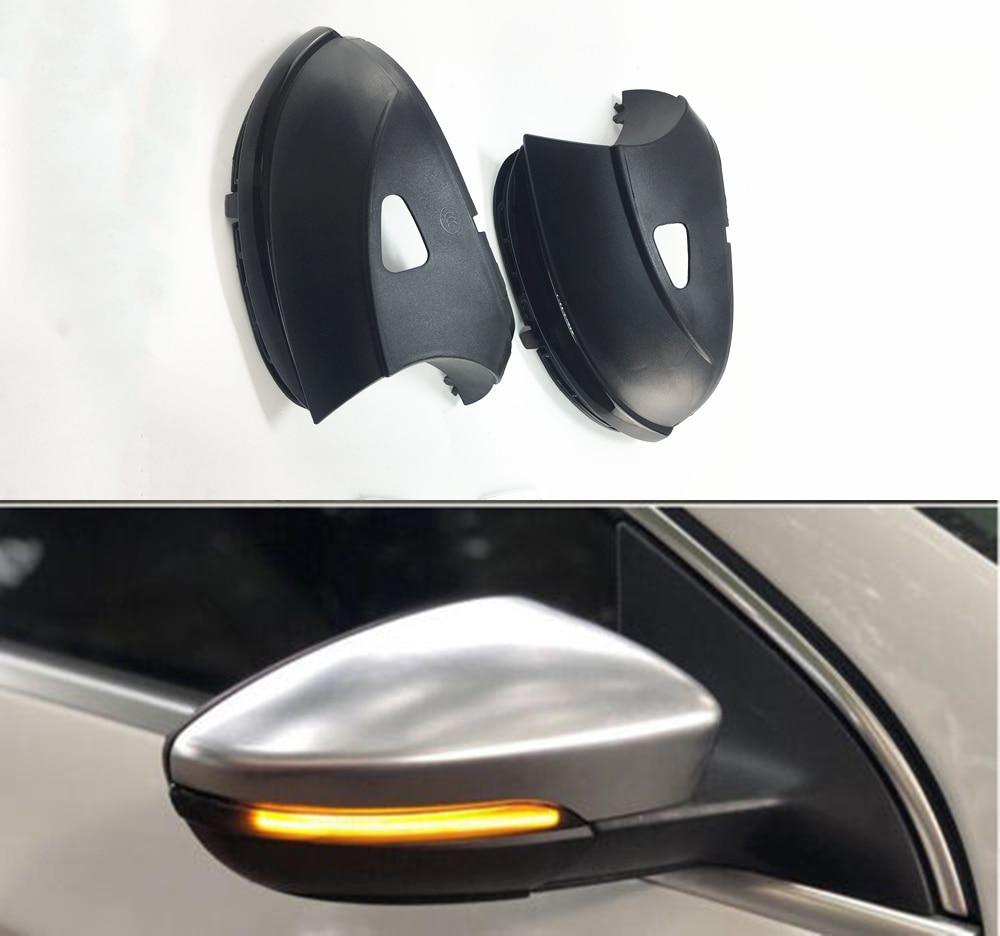Pour VW Passat B7 CC Scirocco Jetta MK6 EOS Dynamique Clignotants LED Côté Aile Rétroviseur Indicateur Clignotant Répéteur lumière