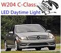 suitablefor 2x White LED Daytime Day Fog Light DRL For Mercedes W204 c260 C300 sport 08~11