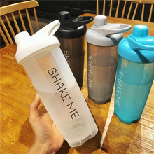 Sports Shaker for Protein Mixer Whey Water Bottle Powder Nutrition Vortex Dust Cup Stirrer Fitness Portable Plastic Stir