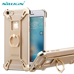 Nillkin for iphone 6 6S 7 7Plus Case Cover Bardes 4.7 & 5.5 Aluminum Alloy Back Cover With Ring Phone Holder