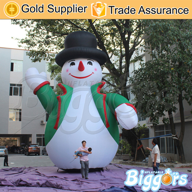 commercial use free shipping blow up christmas festival decoration outdoor giant inflatable christmas snowman for advertising - Blow Up Christmas Decorations
