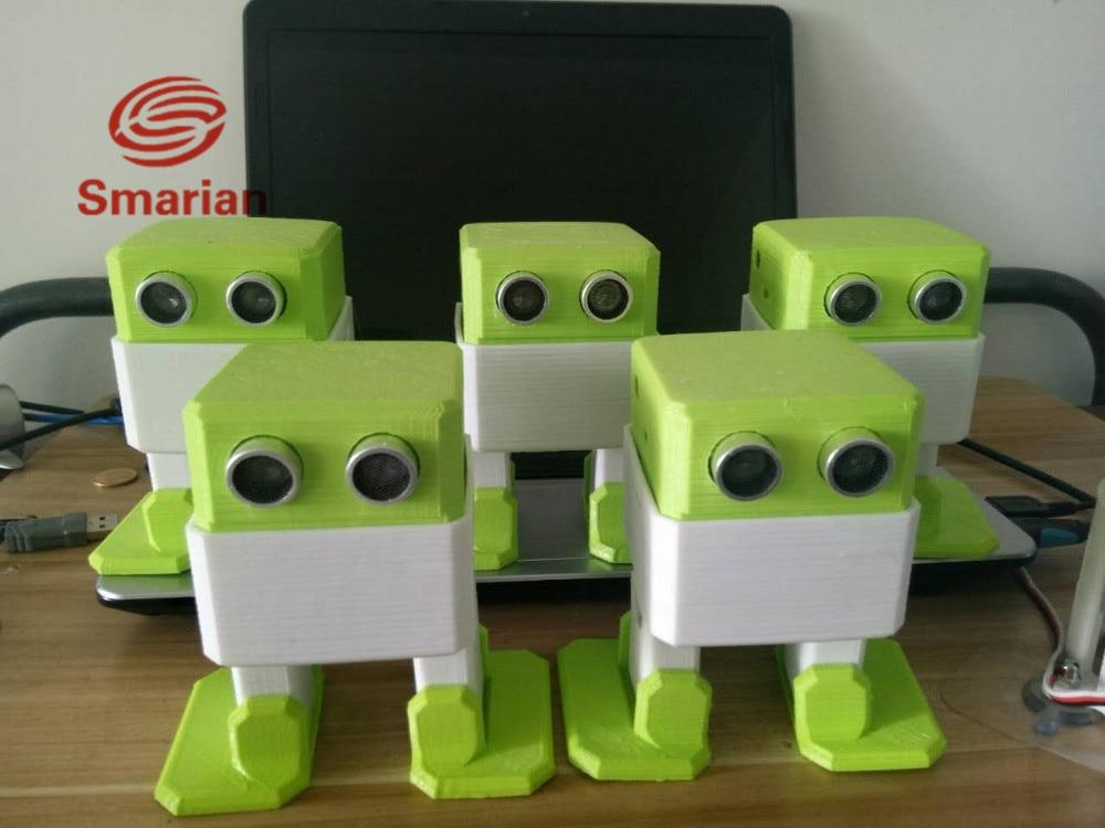 DIY Arduino Nano RC Robot Open Source Obstacle Avoidance 3D Printed Toys
