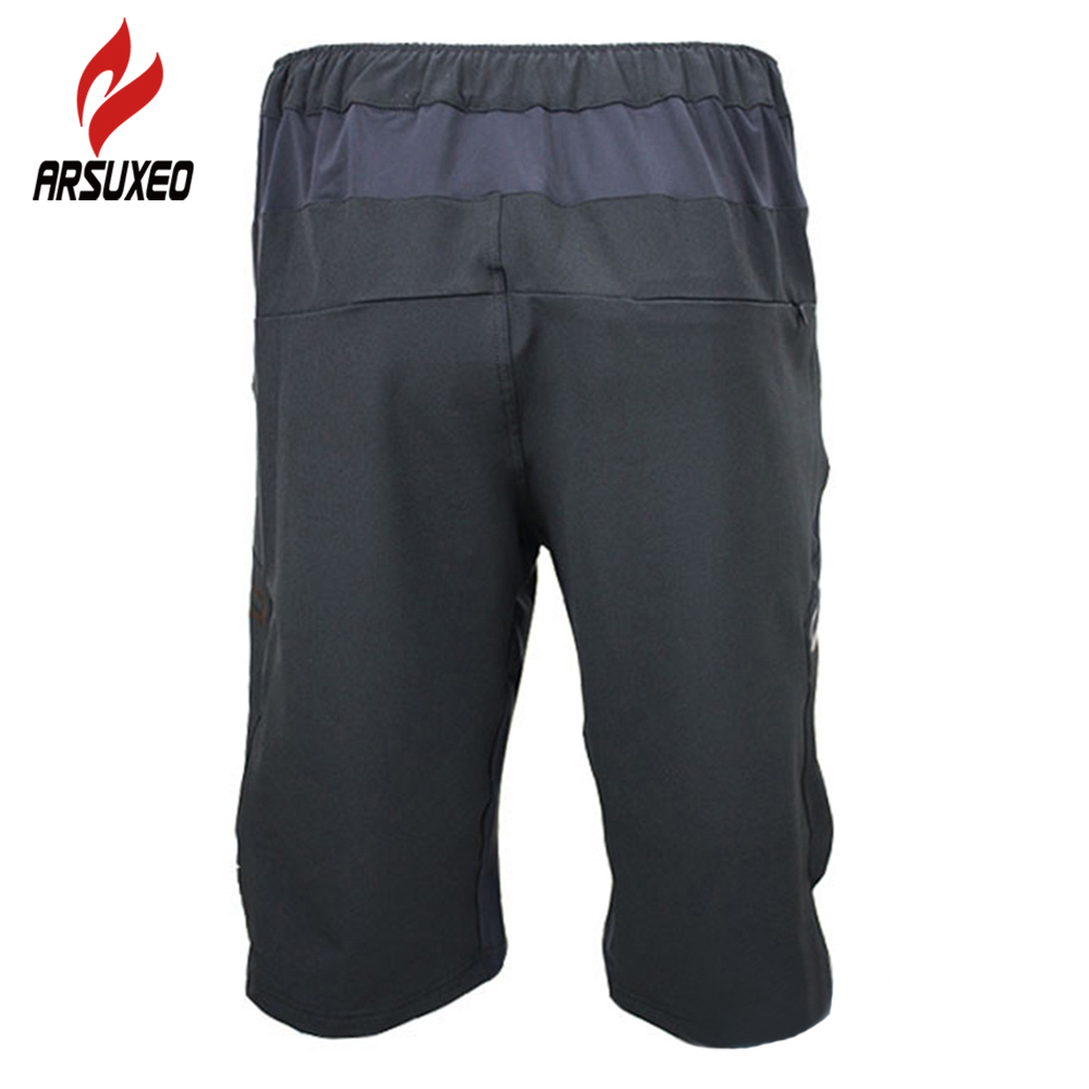 406029472d Pantalones cortos de ciclismo de verano de los hombres de abajo MTB  bicicleta de montaña Shorts