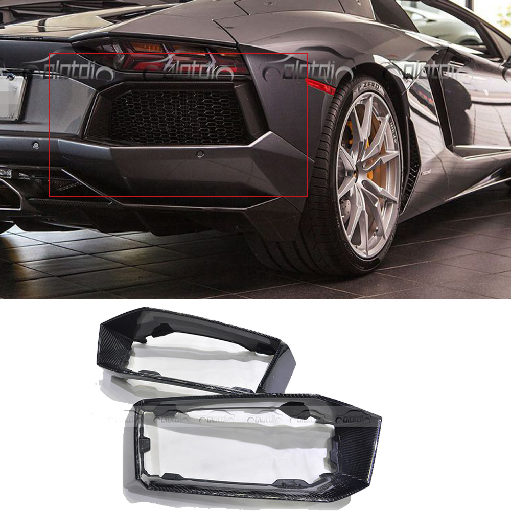 Nerf Bars & Running Boards Car Styling Carbon Fiber Nerf Bars Running Boards Door Sill For Lamborghini Lp700-4