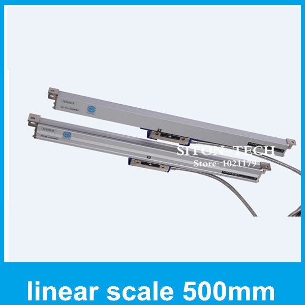 Free shipping Lathe accessories absolute linear encoder Rational WTA1 1micron 500mm digital linear scales for  milling machine  цены