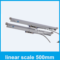 Free shipping Lathe accessories absolute linear encoder Rational WTA1 1micron 500mm digital linear scales for milling machine
