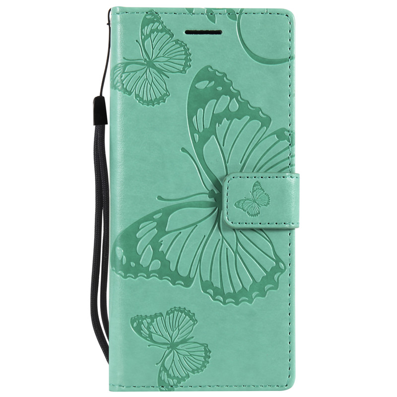 3D Butterfly Leather Flip Case For Samsung Galaxy J1 J3 J4 J5 J6 J7 2016 2017 A5 A3 A8 2018 S5 S6 S7 S8 S9 Plus Edge Cover