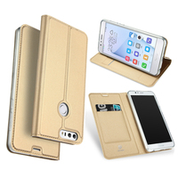 Fashion Skin Leather Soft Tpu Case For Huawei Honor 8 Lite Luxury Wallet Flip Cover Cases