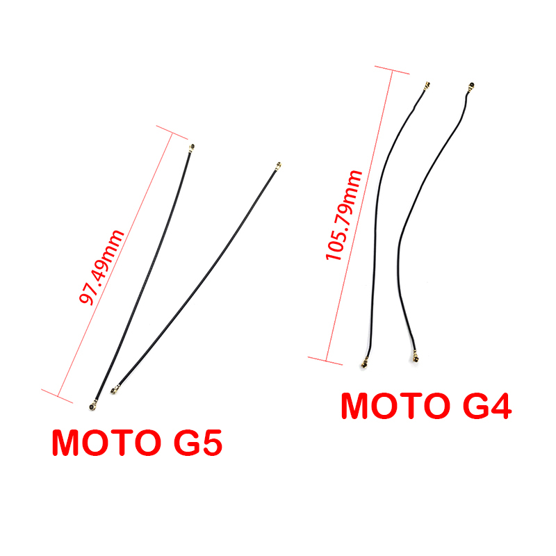 New Compatible For Motorola Moto G4 G5 Signal Antenna Coaxial Flex Cable Wifi Antenna Signal Flex Cable