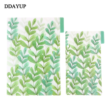 Colorful Plastic Index Pages 6 holes Loose Leaf Notebook Separator A5/A6/A7 Office Planner Accessories ezone 4 sheets a5 a6 6 holes pp colored notebook s index page matte loose leaf book category page office planner stationery gift