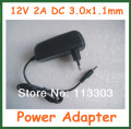 12V 2A 3.0x1.1mm Charger EU US Plug for Acer Iconia Tab A500 A501 A200 A210 A211 A100 A101 Power Supply Adapter