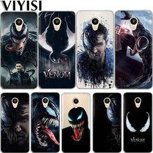 Marvel Venom Case For Meizu M6 Note 16th Phone M5S 5C M3s 3 M5 Coque Pro6 U10 U20 Etui Fundas Capas