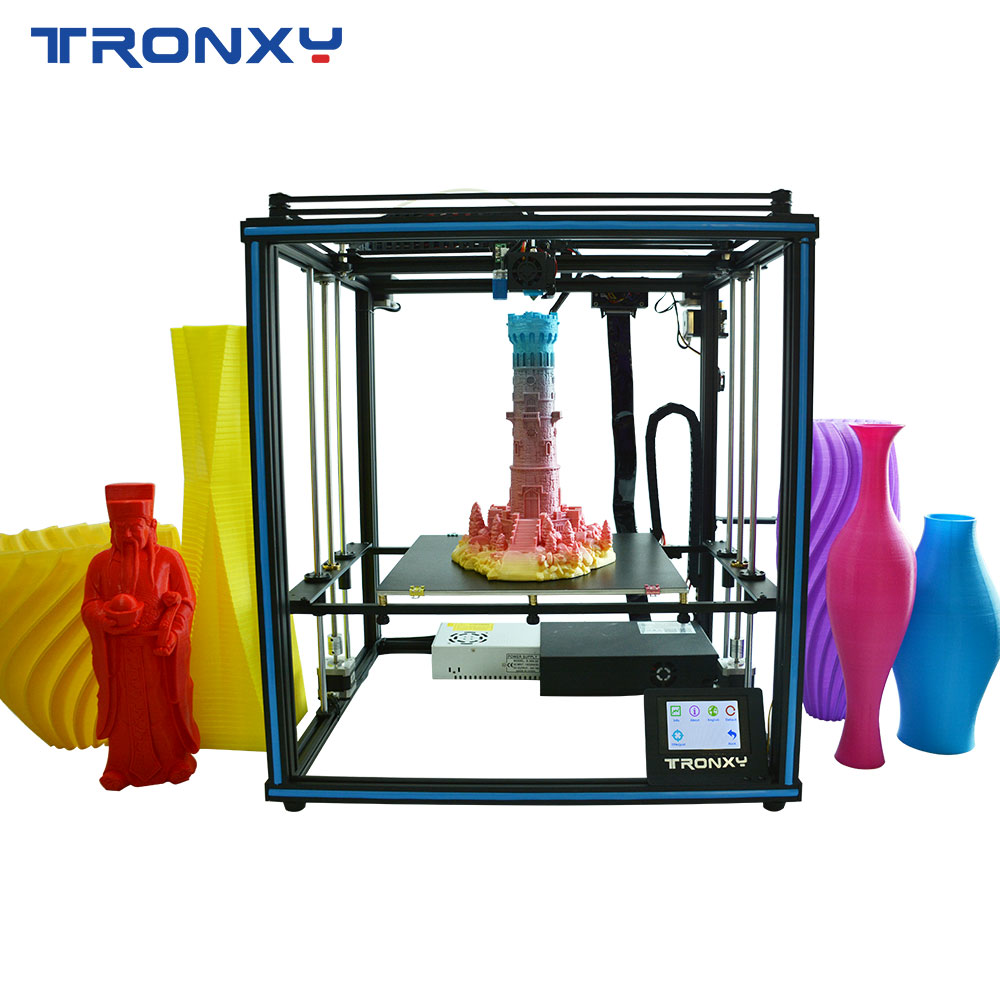 HOT SALE] TRONXY New design 24V Touch Screen 3D printer KIT
