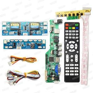 Image 2 - T V18 LED LCD מסך בודק זיהוי כלי עבור טלוויזיה מחשב נייד מחשב תיקון תמיכה 7 84 סנטימטרים + V29V56V59 LCD טלוויזיה בקר